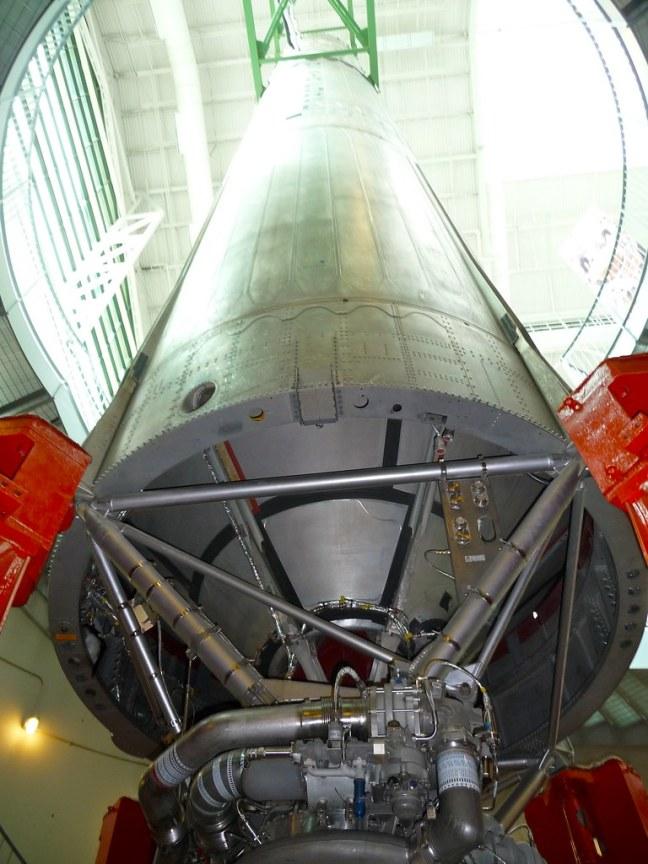 Actual Titan missile used to launch satellites