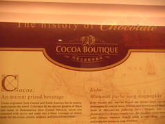History of Chocolate