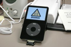 Improvised Ipod Holder