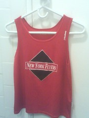 new red flyer singlet-front