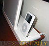 Docked iPod
