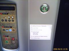 New Starbucks coffee machines