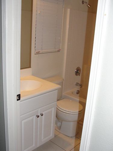Spare Bathroom ReDesign- Before