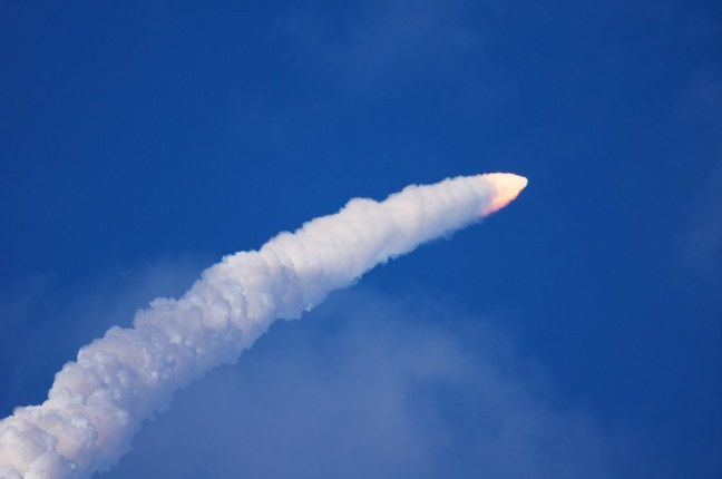 STS-133 Discovery liftoff
