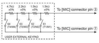 Icom_External_Keypad_Schematic