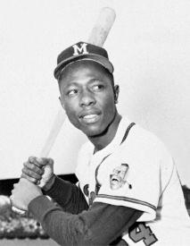 Hank Aaron, baseball legend
