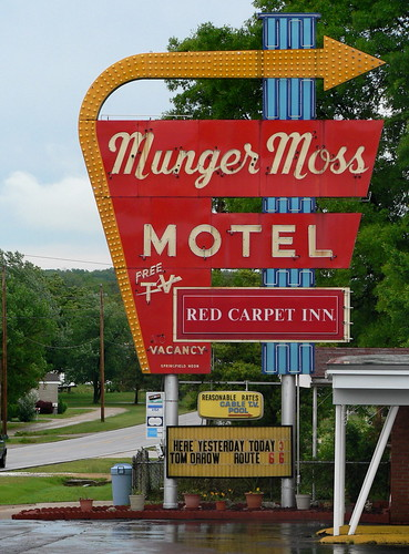 The Munger Moss Motel