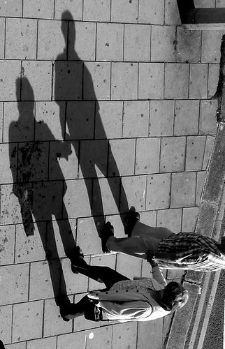 Shadow Play - Brighton - Late Afternoon