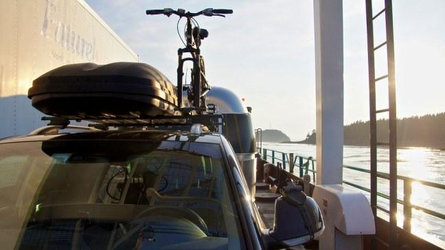 Aboard ferry to L'Etete, New Brunswick