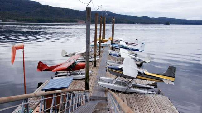 One of many seaplane bases in Ketchikan