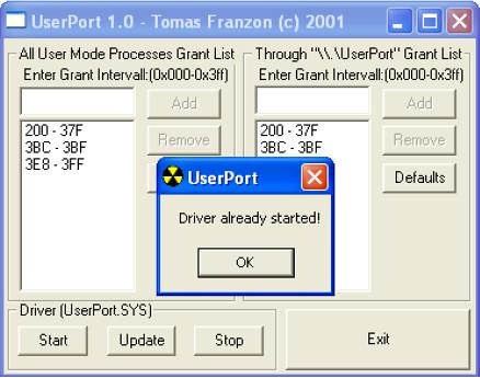 userport image