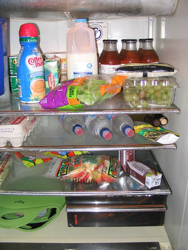 Inisde of my refrigerator