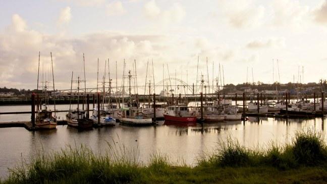 Yaquina Bay