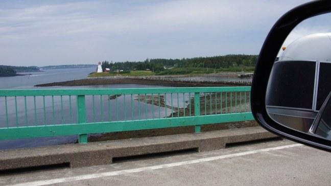Entering Canada via the Franklin Delano Roosevelt Bridge to Campobello Island