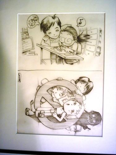 Exposición de comics 2