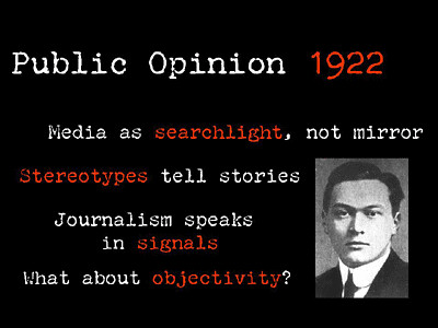 poster image stating the role of media in society
