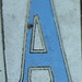 A sidewalk tile