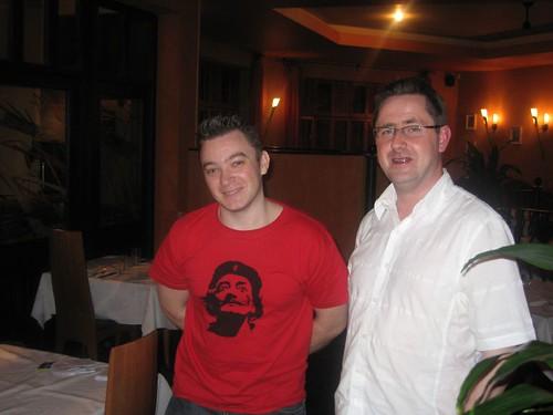 Damien and Fergus