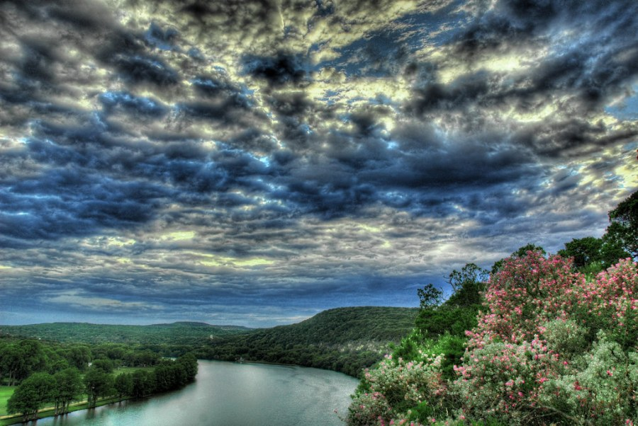 Lake Austin From Above