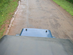 Top of the jeep