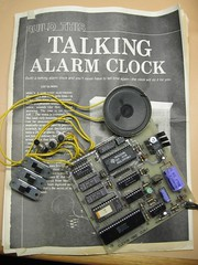 the talking alarm clock photo