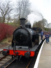 Train at Oxenhope