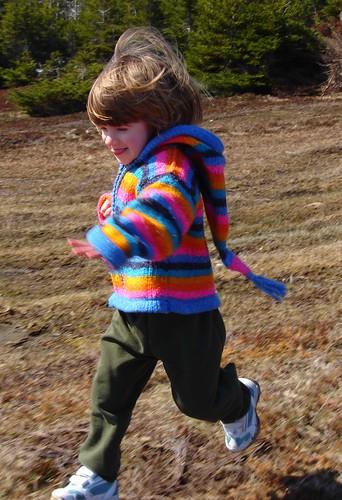 Katherine runs