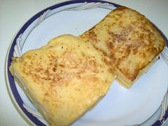 lanche rápido de queijo