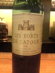 レ・フォール・ドゥ・ラトゥール 1988