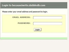dabbledb login