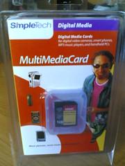 MMC Simpletech 128Mb B
