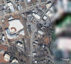 greenville google earth