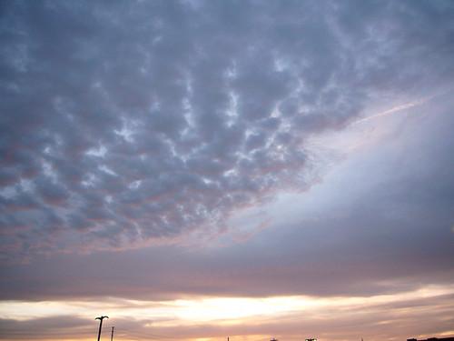 Sky on Saturday Night