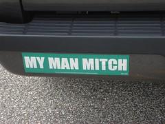 My Man Mitch Bumper Sticker
