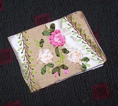 Stem Stitch Rose
