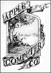 El logo original de Apple
