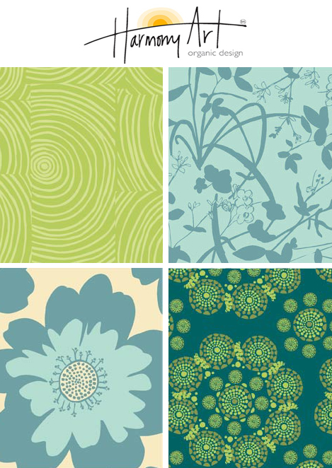 Harmony Art: Organic Textile Designs