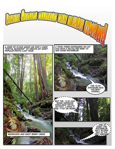 Digital blending tutorial. Page 1: The exposures