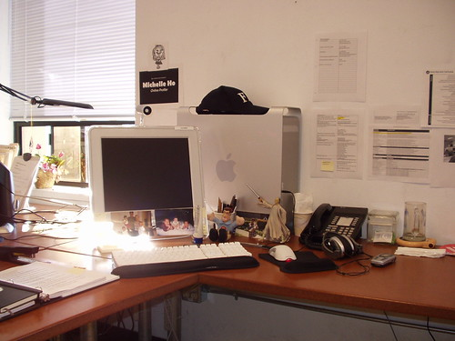 My desk when I still worked in the City