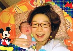 加織と赤ちゃん