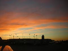sky upon landing at DTW 3