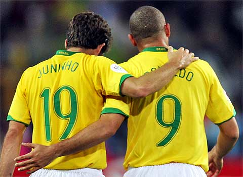 Juninho e Ronaldo
