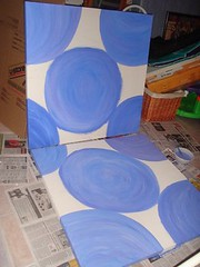 Diptych - Painting in Stages
