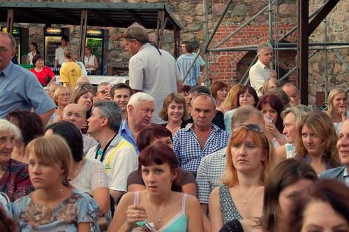 Pilnėnai opera: crowd