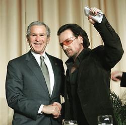 Bono u2 bush contra venezuela