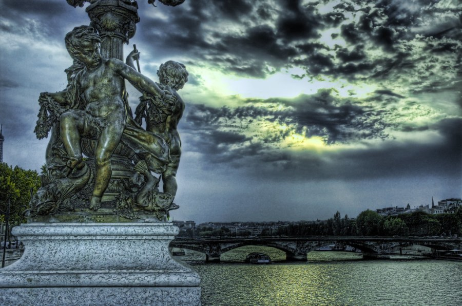Angels Watching Over Paris
