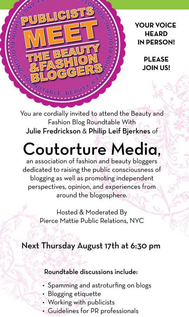 Meet the Fashion and Beauty Bloggers with Pierce Mattie