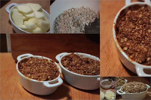 Judi & Courtney's Honeycrisp Apple Crisp