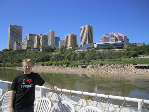 On the Edmonton Queen