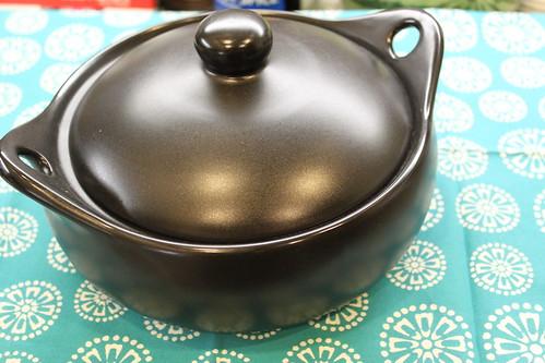 Stovetop safe Black Ceramic Rice Pot, World Market